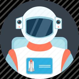 astronaut, astronomy, helmet, nasa, space, spacecraft, spaceman icon