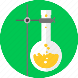 beaker, chemistry, experiment, glass, research, science, tube icon