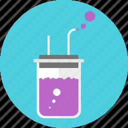 beaker, chemistry, experiment, flask, laboratory, medicine, test tube icon