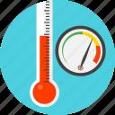 meter, gauge, measurer, temperature, test, thermometer