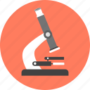 analysis, chemistry, lab, microorganism, microscope icon