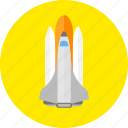 racket, rocket, spacecraft, squib icon