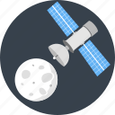 astronomy, communication, gps, satellite, space, spaceship icon