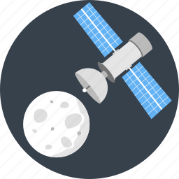 astronomy, communication, gps, satellite, space, spaceship icon