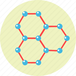 atoms, connection, molecule, science, structure icon