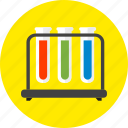 chemical, chemistry, experiment, laboratory, research, test, tube icon