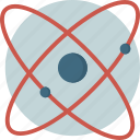atom, constituent, matter, research, smallest, structure, technology icon