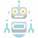 intelligence, knowledge, learning, literature, mathematics, robot icon