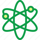 atom, learn, learning, science, study, subject icon