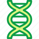 dna, learn, learning, science, study, subject icon
