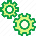 gear, learn, learning, science, study, subject icon