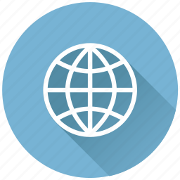 browser, earth, global, globe, internet, map, navigation, planet, seo, sphere, travel, world icon