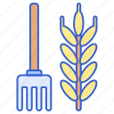 agriculture, farming, horticulture icon