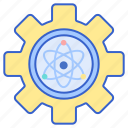 applied, atom, physics icon