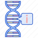 bioinformatics, data, genetics icon