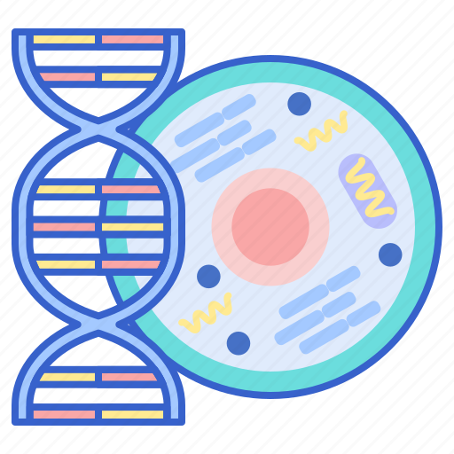 biology, dna, research icon