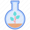 biology, botany, plant icon