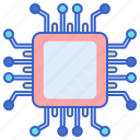 cpu, electronics, processor icon