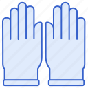 gloves, hands, protection icon