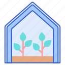 eco, green, house icon