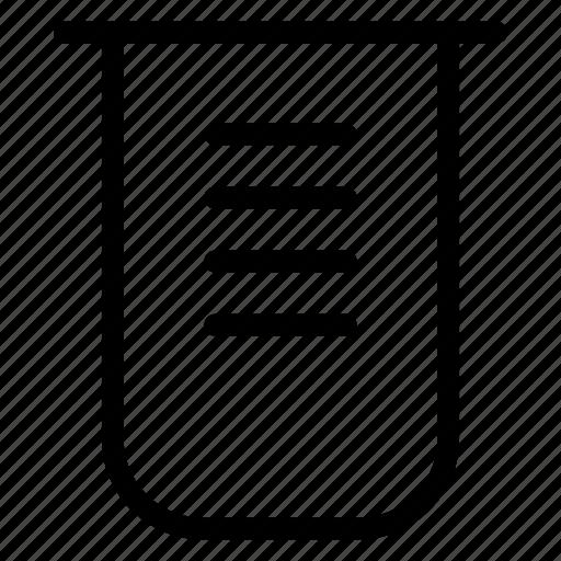beaker, flask, lab, science icon