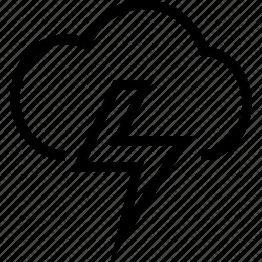 cloud, energy, network, weather icon