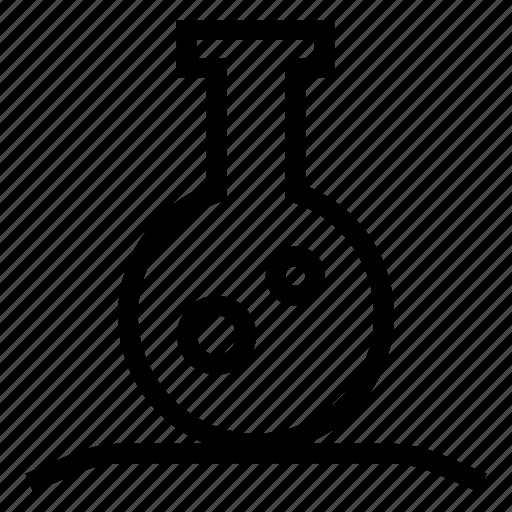 experiment, flask, jar, lab icon