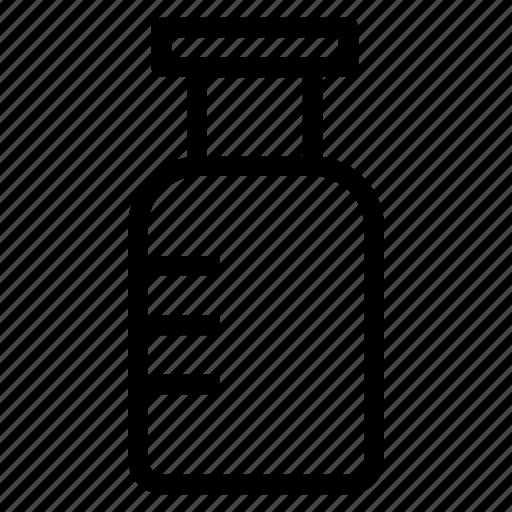 beaker, chemical, jar, lab icon