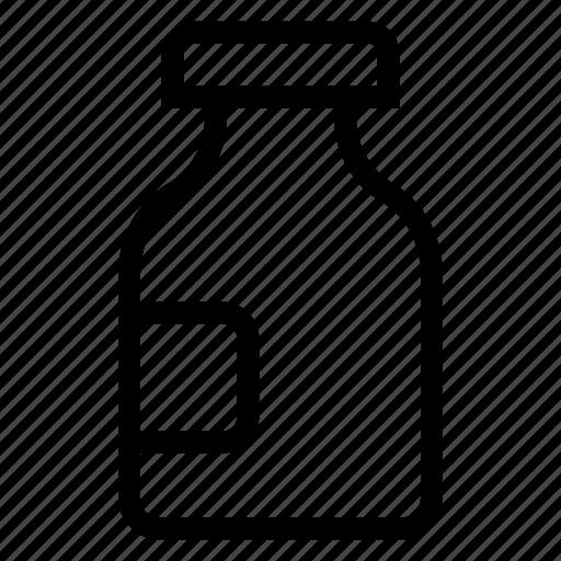 fluid, jar, lab, test icon