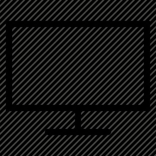 desktop, lcd, monitor, television icon