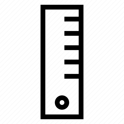 design, geometry, meter, ruler icon