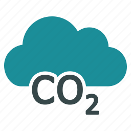 carbon, co2 emission, eco, environment, environmental, gas, pollution icon