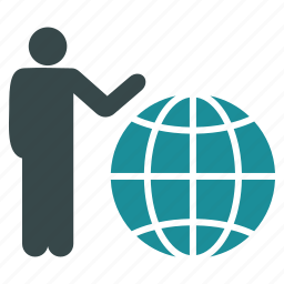 earth, global, globe, marketing, presentation, web, world icon