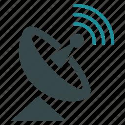 communication, radio telescope, signal, space antenna, technology, transmitter, wireless icon
