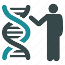 biology, dna structure, genetic engineering, genetics, genome chain, report, science icon