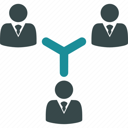 connection, group, management, organization, people, team, teamwork icon
