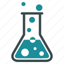 boiling, chemical, chemistry, experiment, flask, laboratory, liquid icon