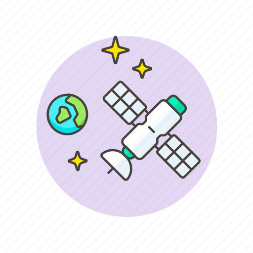 device, gadget, mission, satellite, science, space, technology icon