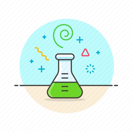 beaker, chemistry, experiment, flask, lab, research, science, technology icon