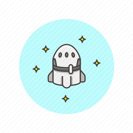 device, fly, gadget, mission, rocket, science, spacecraft, technology icon