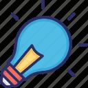 bulb, light bulb, illumination, electric bulb, light icon