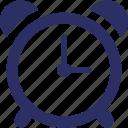 alarm, timepiece, timekeeper, clock icon