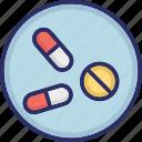 capsule, drugs, medicine, pharmacy, tablet icon