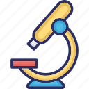 lab tool, laboratory, microscope, research, science icon
