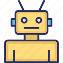 automation, robot, robot face, science, technology icon