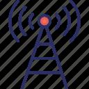signal tower, wireless antenna, wifi, wifi tower, antenna icon