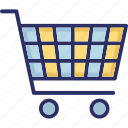 buy, cart, purchase, shopping, trolley icon