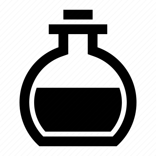 bottle, chemistry, flask, medicine, mixture, potion, solution icon
