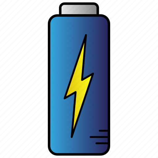 battery, charge, energy, power, science icon