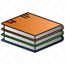 books, education, knowladge, science, study icon